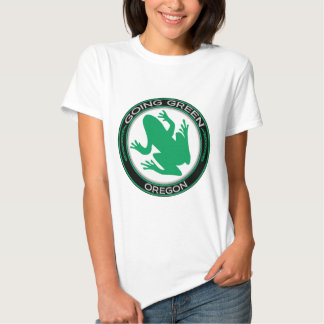 Going Green Oregon Frog Shirts