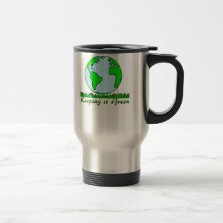 Going Green Travel Coffee Mug