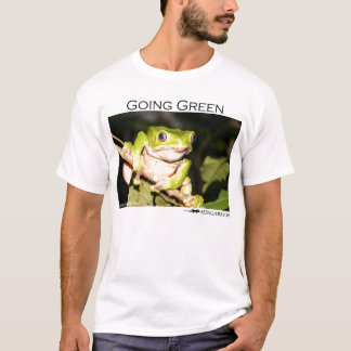 Going green - tree frog T-Shirt