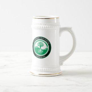 Going Green Tree Oregon Coffee Mugs