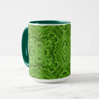 Going Green Vintage Kaleidoscope Combo Mug