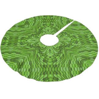 Going Green Vintage Kaleidoscope   Tree Skirt