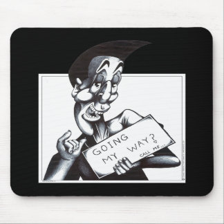 Going My Way Mouse Pad