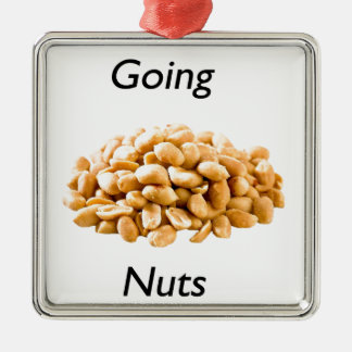 Going nuts christmas tree ornament