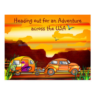 Going on a Great Adventure Postcard
