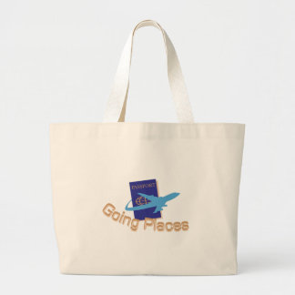 Going Places Jumbo Tote Bag