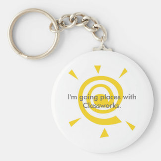 Going Places with Classworks Keychain