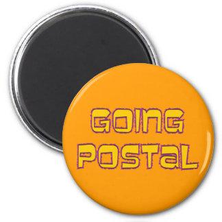 going postal kühlschrankmagnet
