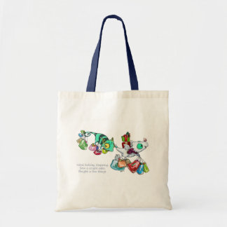 Going Shopping Dragons Tote Bag