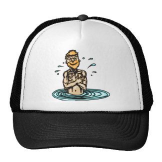 Going Swimming Mesh Hat