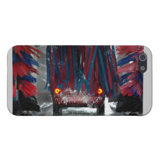 Going through the Car Wash iPhone 5 Cases