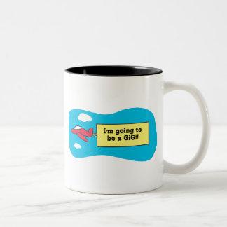 Going to be a GiGi! Mugs