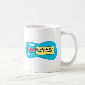 Going to be a Great Grandma! Mug