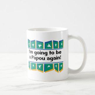 Going to be a Papou again! Coffee Mug