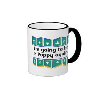 Going to be a Poppy again! Ringer Mug