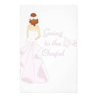 Going To Chapel Personalised Stationery