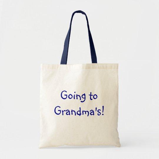 """""""Going to Grandma's""""  Bag"""