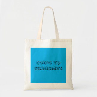 Going to Grandma's - Small Tote Bag