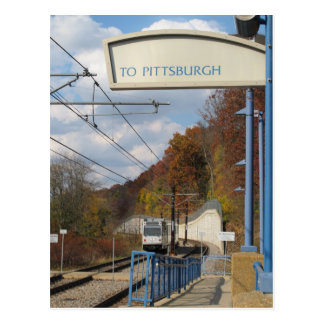 Going to Pittsburgh? Postcard