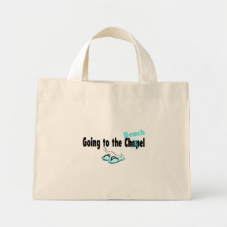 Going To The Beach Mini Tote Bag
