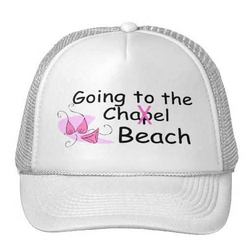 Going To The Chapel (Beach) (Bikini) Trucker Hats
