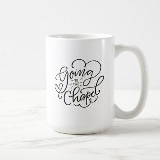Going to the Chapel Engagement Coffee Mug