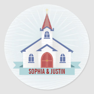 Going to the Chapel Sticker