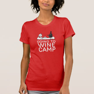 Going to Wine Camp - Canoe T-Shirt