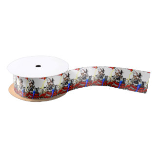 Going up to the capital! Worldwide master English Satin Ribbon