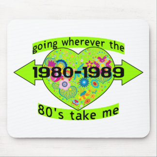 Going With The 80's Mouse Pad