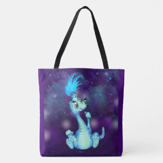 GOKKI 2 PET ALIEN All-Over-Print Tote Bag Large