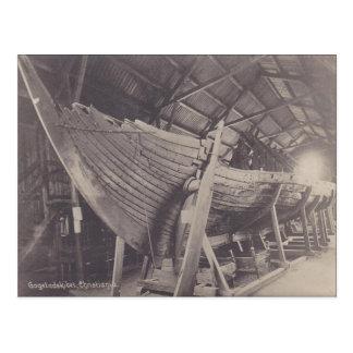 Gokstad ship, Christiania Postcard