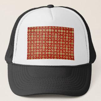 gold #10 trucker hat