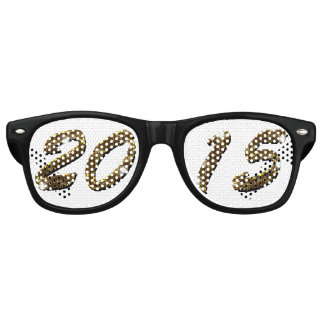 Gold 2015 New Year  Party Shades