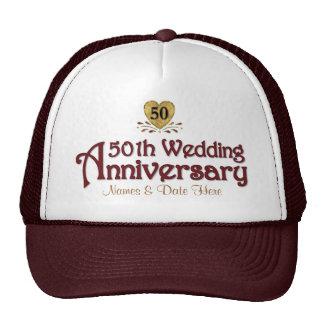 Gold 50th Anniversary Cap