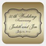 Gold 50th Wedding Anniversary