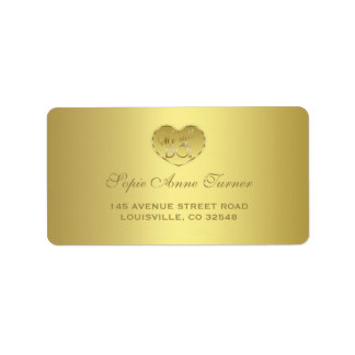 Gold 50th Wedding Anniversary We still DO Address Label
