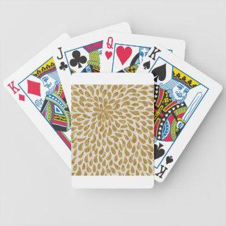 gold #9 poker deck