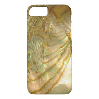 Gold abalone shell iPhone 7 case