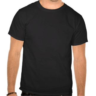 Gold Abstract on Black Tshirt