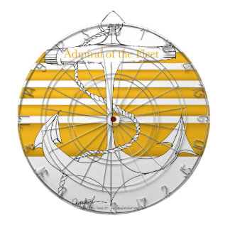 gold admiral of the fleet, tony fernandes dartboard