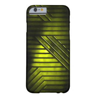 Gold Alien Metal Barely There iPhone 6 Case