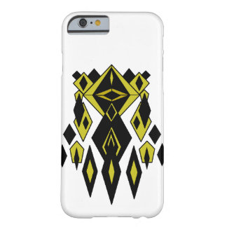 Gold Alien Robot Barely There iPhone 6 Case
