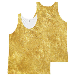 GOLD All-Over PRINT SINGLET
