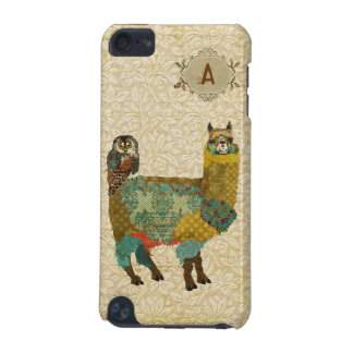 Gold Alpaca & Teal Owl Case iPod Touch (5th Generation) Case
