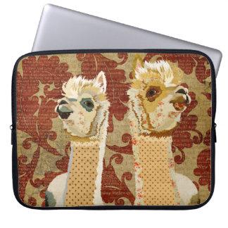 Gold Alpacas Computer Sleeve