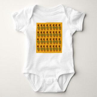 Gold ananases edition Ethno Baby Bodysuit