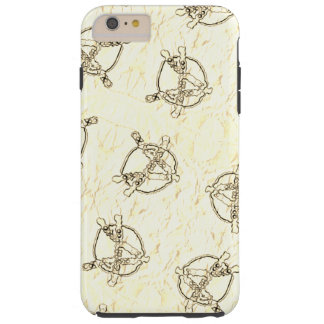 Gold Anarchy Tough iPhone 6 Plus Case