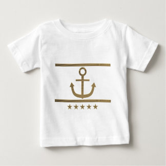 gold anchor happiness symbol baby T-Shirt