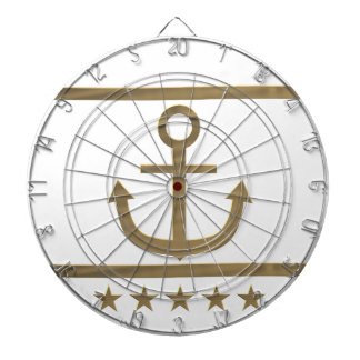 gold anchor happiness symbol dartboards